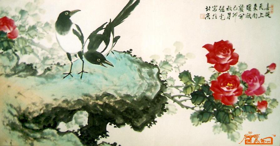 """宗继光,1953年生于北京,现为中国画研究会会员,首都书画艺术研究会会员,中国展示设计协会会员,中国三峡画院一级画师,中华清风书画协会理事,齐白石艺术研究会理事、中国民主建国会中央画院院士等,高级美术师,中国民主促进会会员。 自幼酷爱美术。8岁时,两幅作品赴国外展览。多年来,潜心于花鸟画的研习与创作,兼工山水及油画,为自己的创作打下坚实的基础。特别是对""""月季花""""画法的研究和创新,将东西方绘画技法融汇贯通,尊重传统,锐意改革,笔墨酣畅,寄意高雅,同时对花鸟画的大场景创作开"""