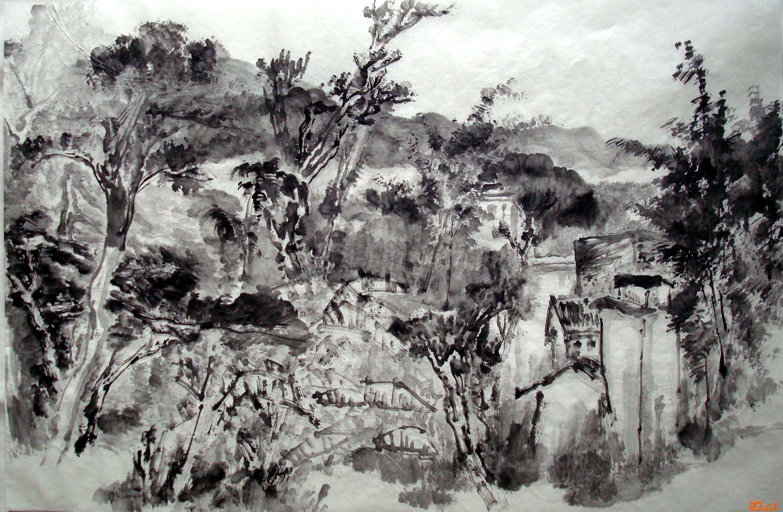 写生-孙言正-淘宝-名人字画-中国书画服务中心,中国,.