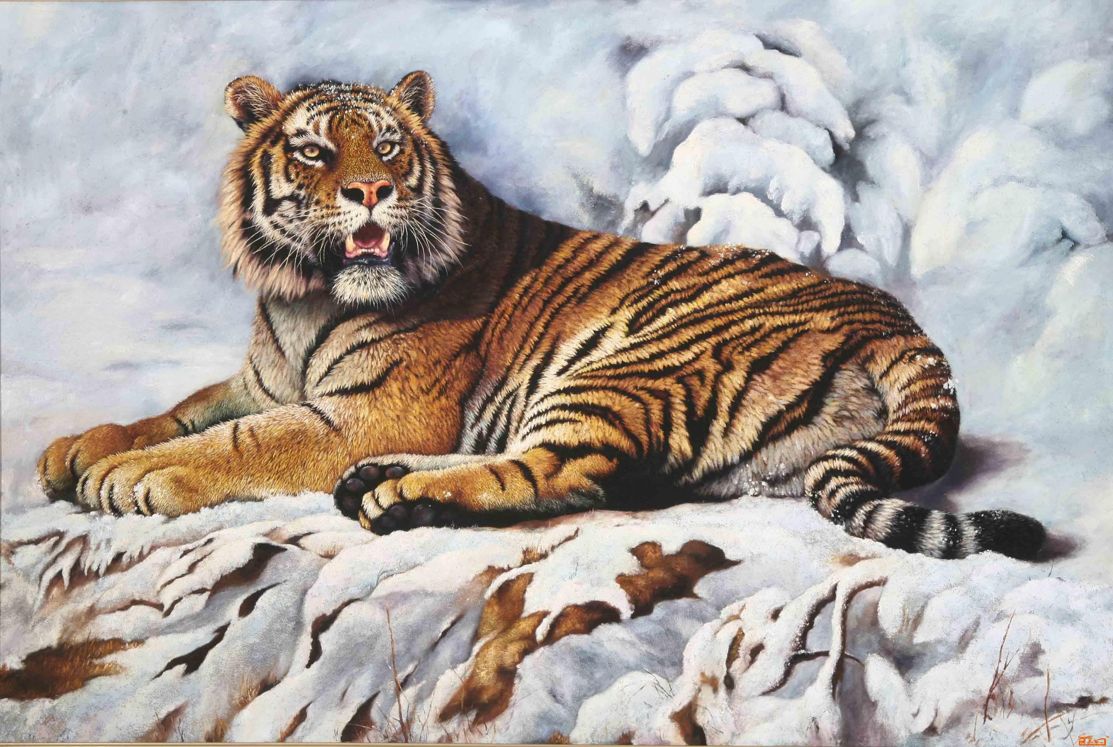 初中动物绘画作品