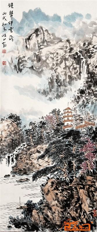 创办岐山美术工作室,作品曾多次参加国展,以及省市美展,并被国内外