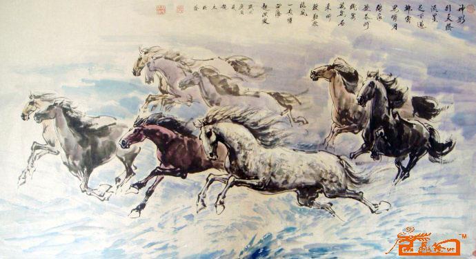 赵太极写意动物创作图片