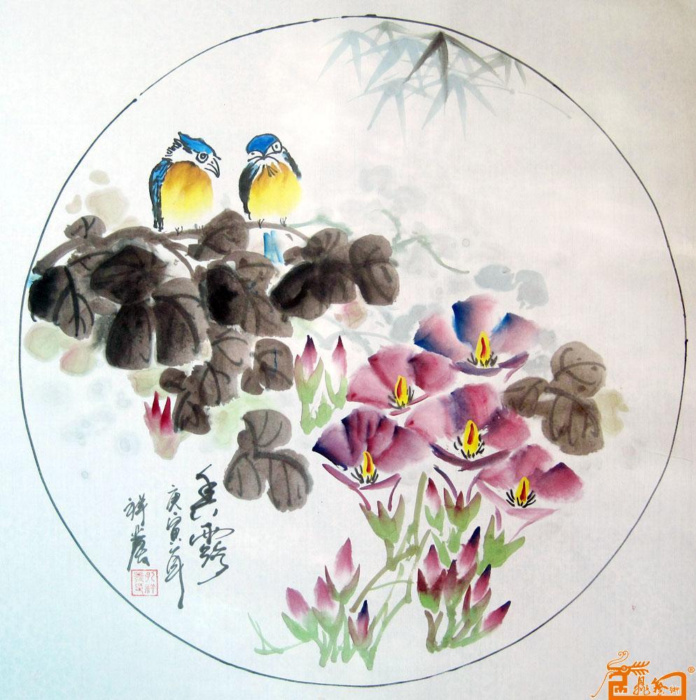 陶瓷手绘作品欣赏