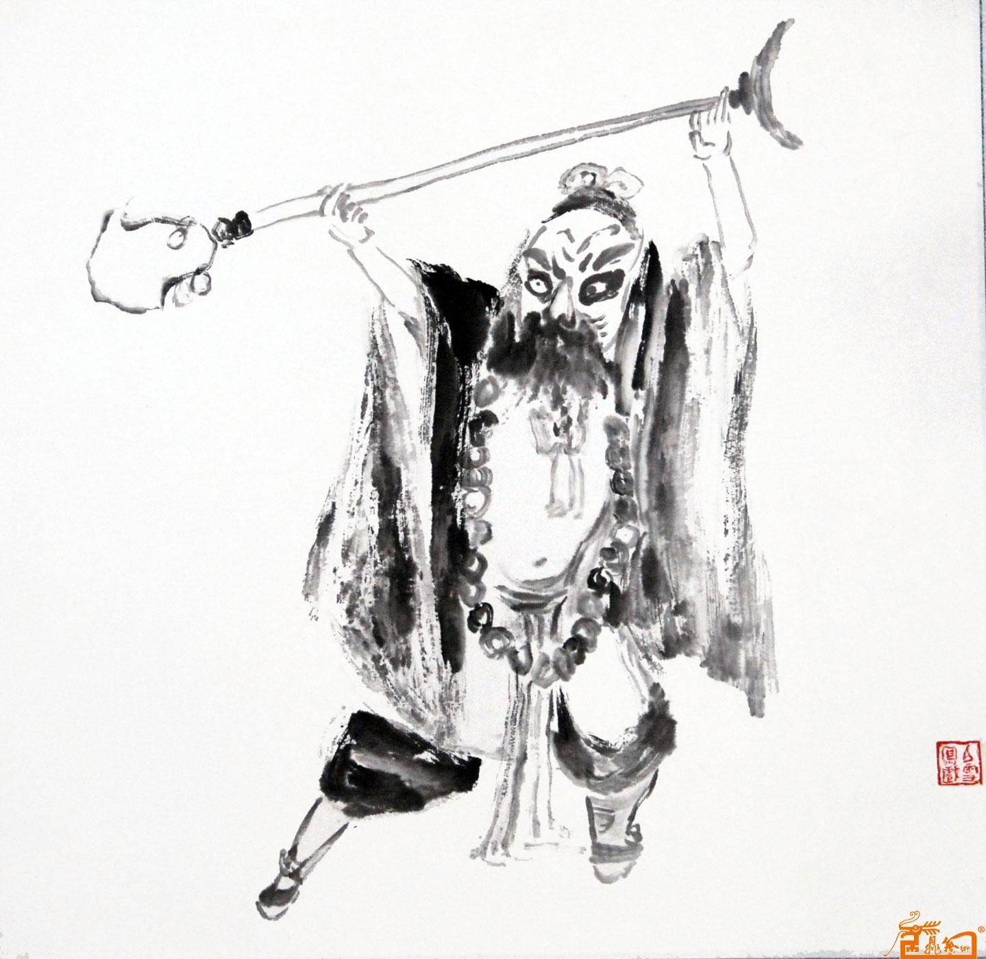 名家 李白雪 人物 - 鲁智深