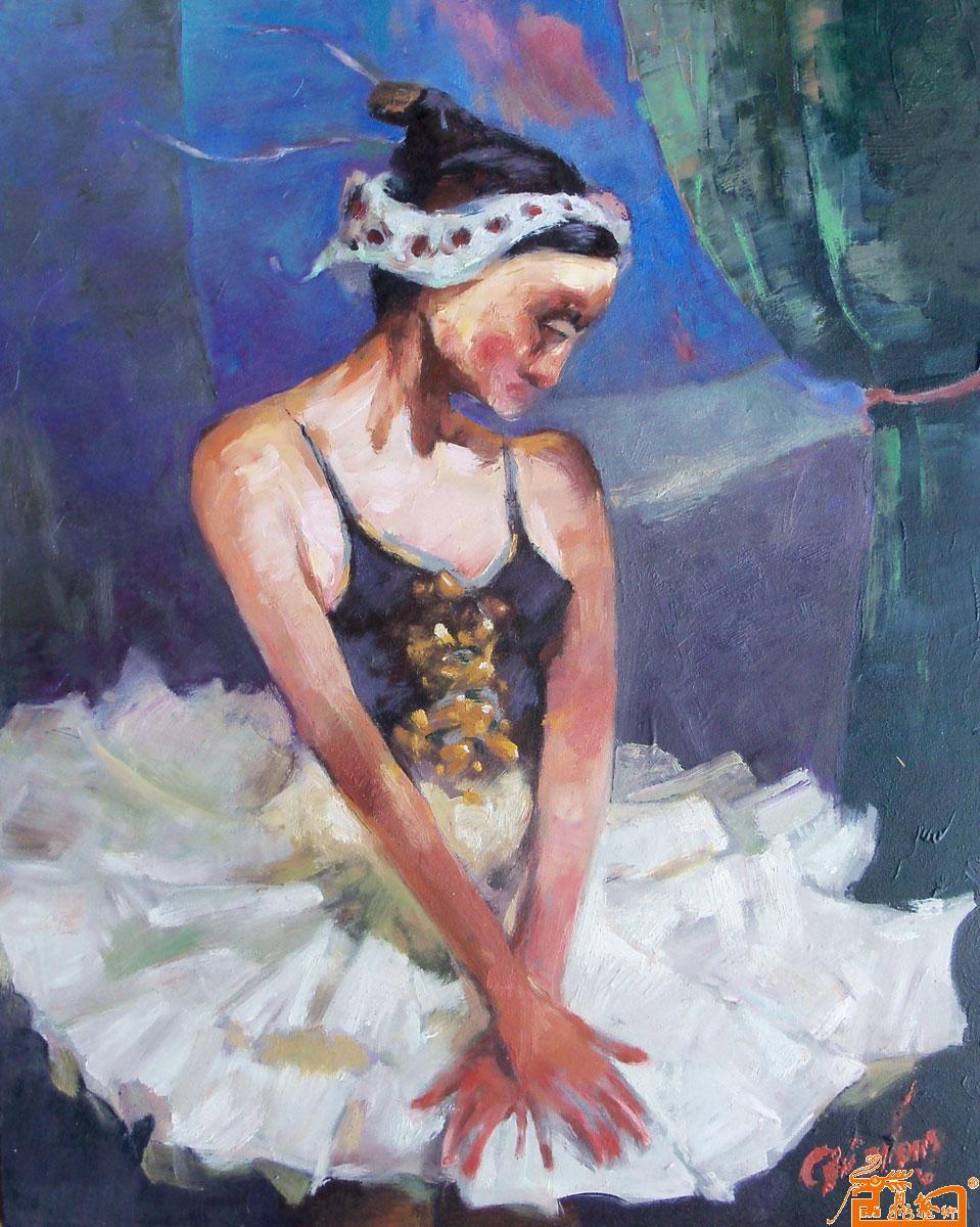 毕业设计油画芭蕾