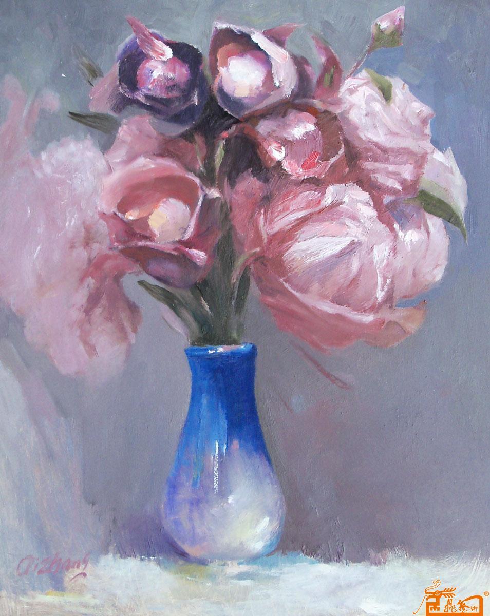 油画 花卉 创作步骤