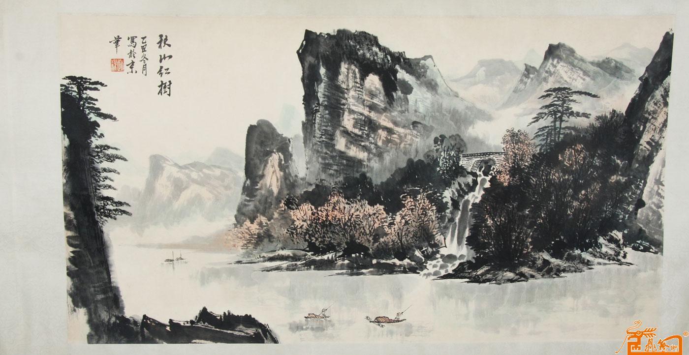 名家 赵广峰 国画 - 赵耀 秋山红树(藏品) 当前 位粉丝喜爱本幅作品