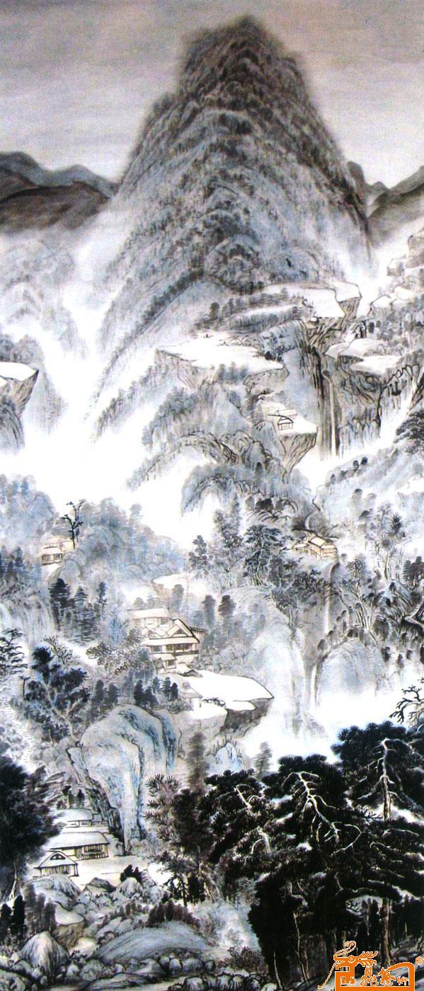 何元元-仿古山水-淘宝-名人字画-中国书画交易中心,,.