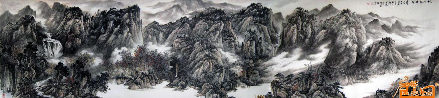名家 李志成 国画 - 作品23 当前 位粉丝喜爱本幅作品图片
