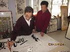 中国著名烙画艺术家:徐鼎华
