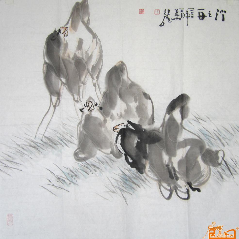 骆驼-王继雄-淘宝-名人字画-中国书画交易中心,中国,.
