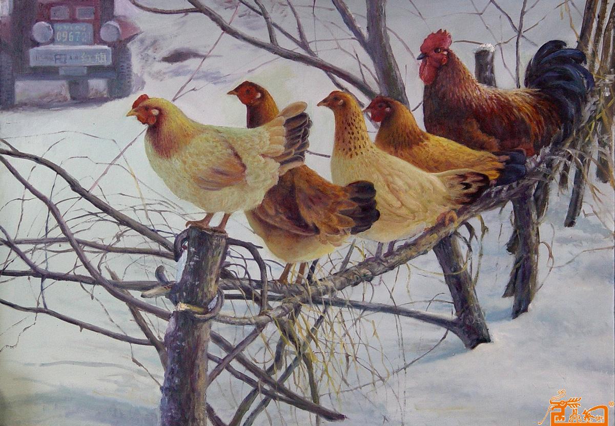油画 名家 逍遥画客李勇国际艺术席位作品交易平台