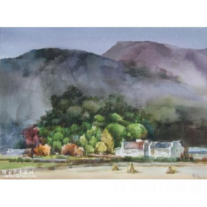 张育维 徽州写生系列之一 类别: 水粉画|水彩画