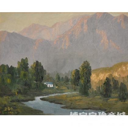 王春红名家原创作品在线保真鉴定     油画;名家 王春红 油画;名家王