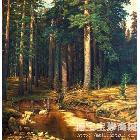 胡三木 松林 类别: 风景油画