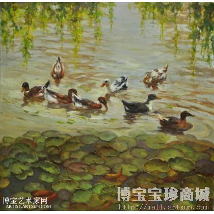 动物油画-淘宝