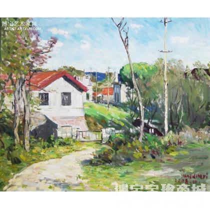 名家 杨庆义 国画;油画; - 杨庆义 长山岛度假村 类别: 风景油画 当前