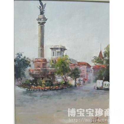陶学仕 陶学仕 天津意大利风情街 类别 油画X 中国书画服务中心
