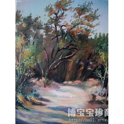 何之 小路 类别: 风景油画