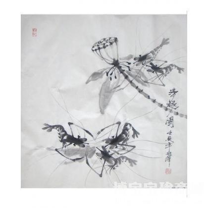 清趣图 类别: 国画花鸟作品