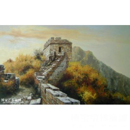 油画;名家 萧永军 - 萧永军 长城-7 类别: 风景油画x 当前   位粉丝喜