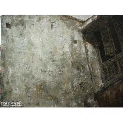 何婷 老宅 类别: 风景油画