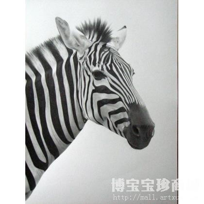 动物素描 类别: 素描-淘宝-名人字画-中国