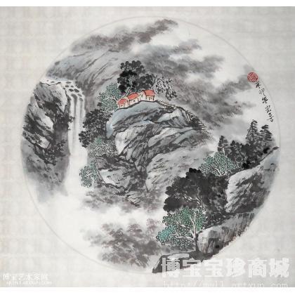 名家 张宏喜 国画; - 山水小品37 山水画 张宏喜作品 类别: 国画山水