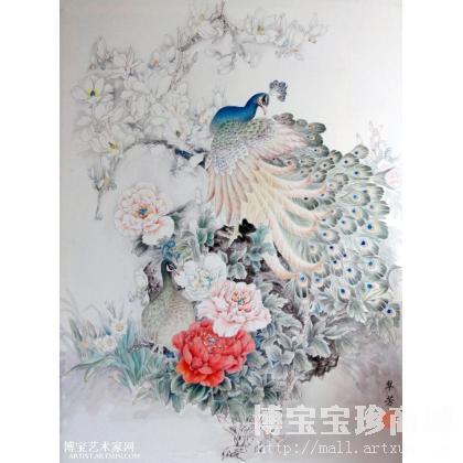 淘宝装修素材图片中国风牡丹