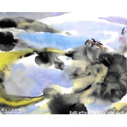 当代水墨画 抽象画 国画作品 类别 当代水墨画 中国书画服务中心
