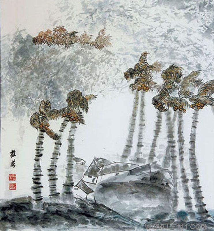 陈桂花--海口室内装饰协会社会监督员,中国版画家协会会员,海南省