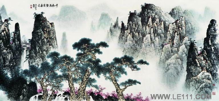 中国国画山水画