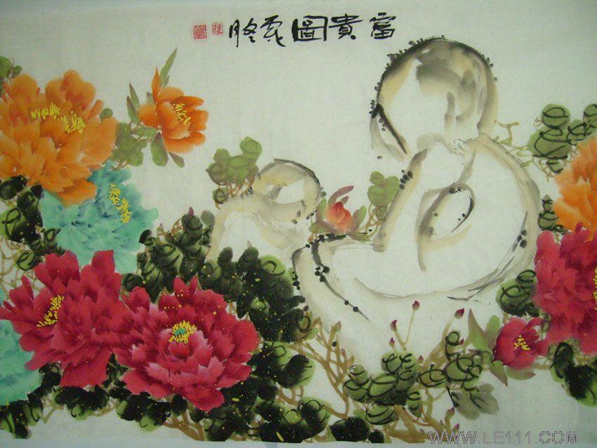 李健绘画作品1幅我的梦想绘画作品
