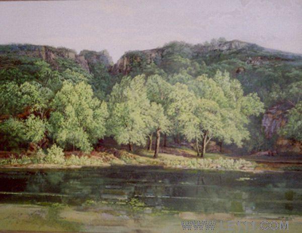 绘画 油画 名家 王治平国际艺术席位作品交易平台