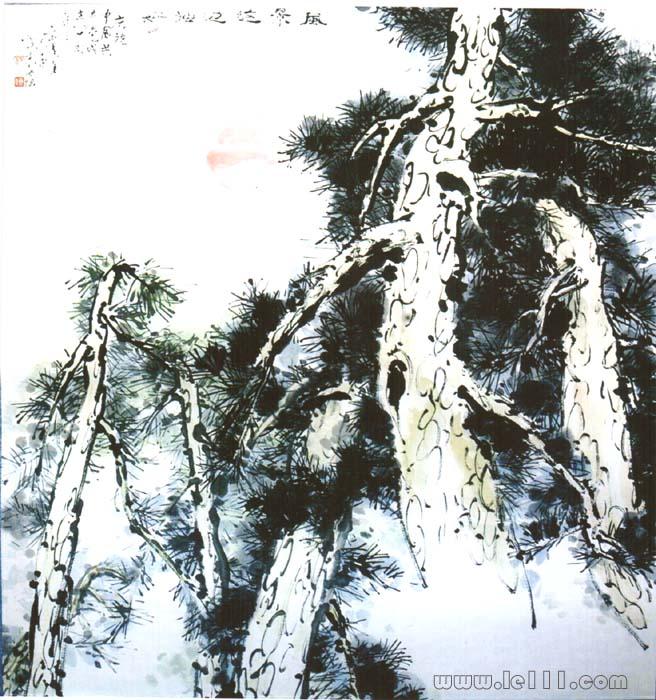 绘画 国画 山水画 名家 佟向云国际艺术艺栈作品交易平台