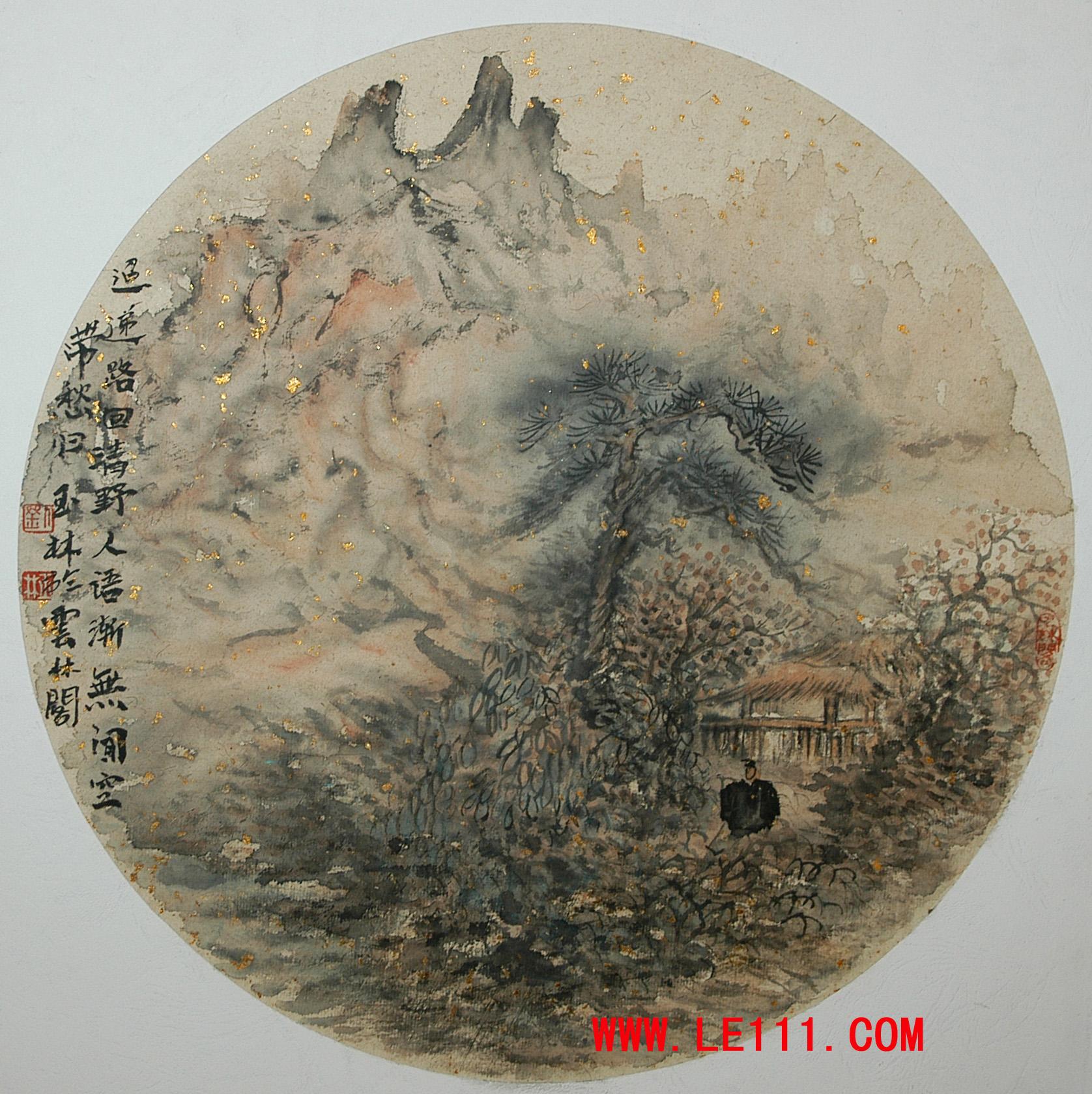 绘画 国画 山水画专长名家刘玉林作品保真鉴赏视频