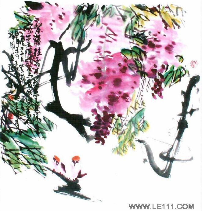 """孙森成的作品""""花鸟58""""-孙森成-淘宝-名人字画-中国,中"""