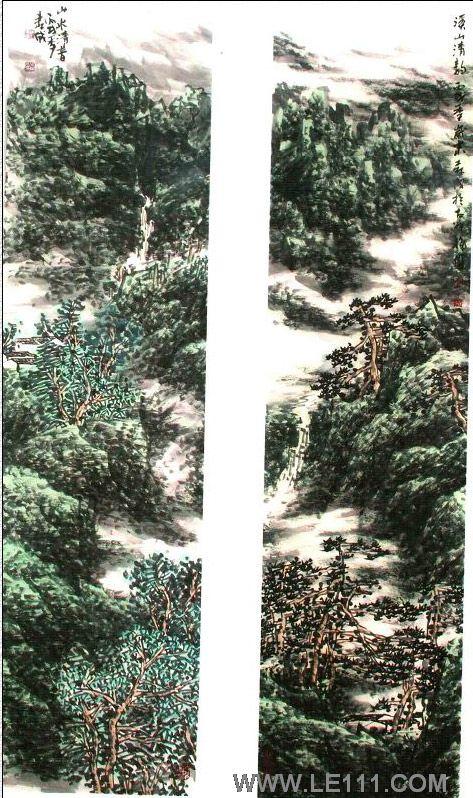 """孙森成的作品""""山水54""""-孙森成-淘宝-名人字画-中国,中"""