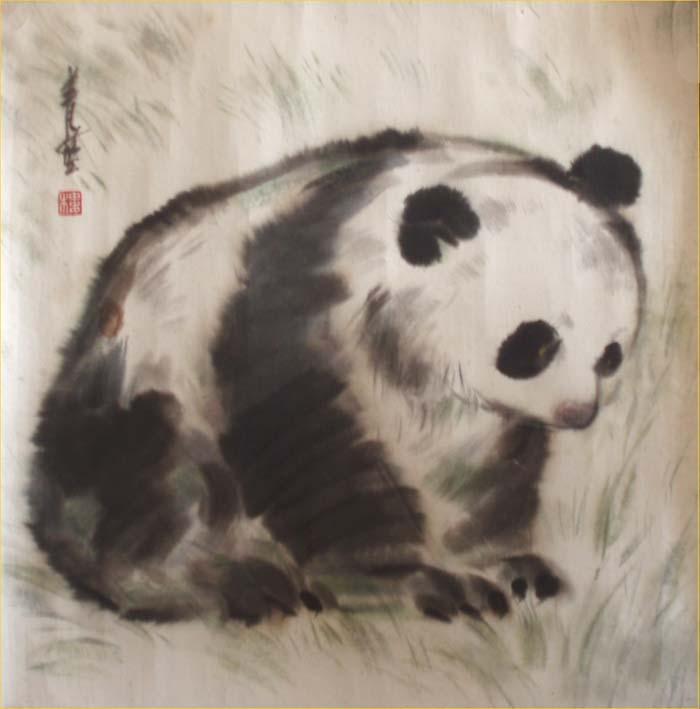 壁纸 大熊猫 动物 狗 狗狗 700_709