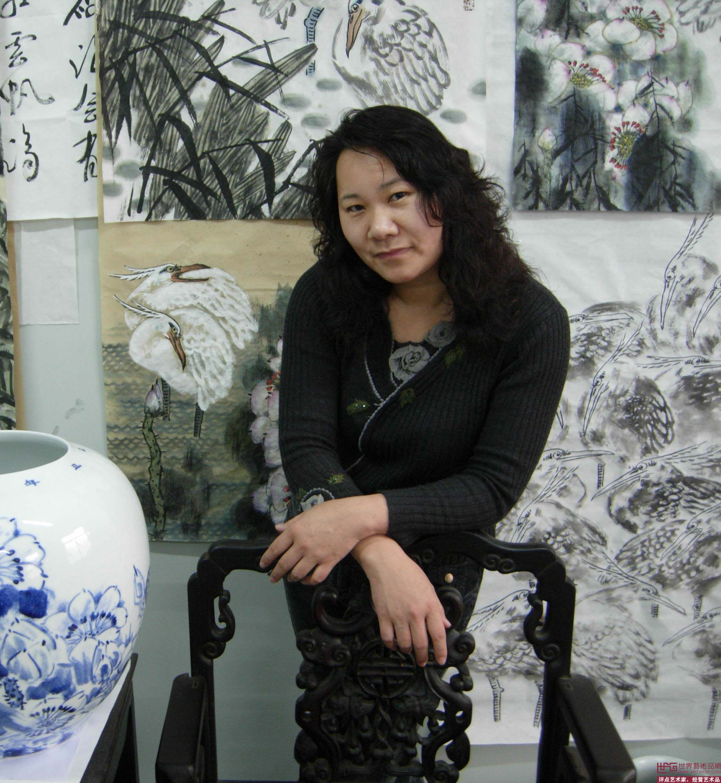 山东省书画学会学术委员 山东省女画家协会理事 名家刘静常用印章