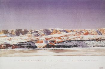 刘金岩,内蒙古人,著名水彩画家.
