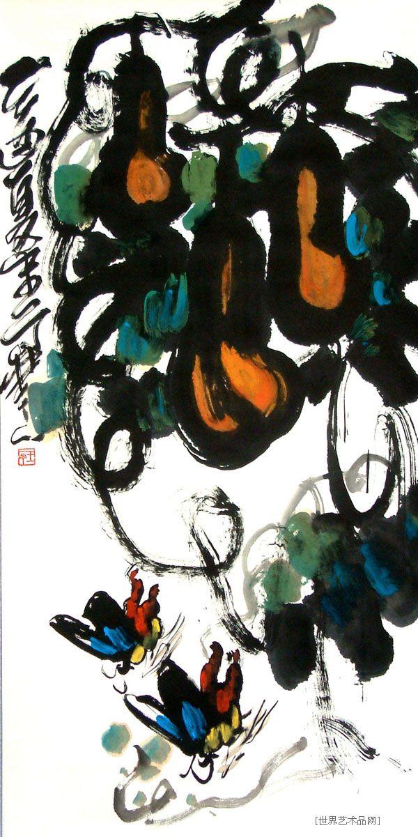 王一丁-花鸟-淘宝-名人字画-书画服务中心、书视频制作景泰蓝图片