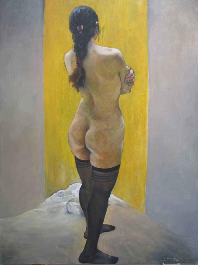 名家张广义油画女人体当前位粉丝喜爱本幅作品