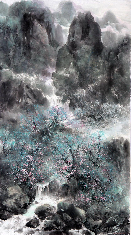 陈维利-山水画-淘宝-名人字画-中国书画交易中心,中国