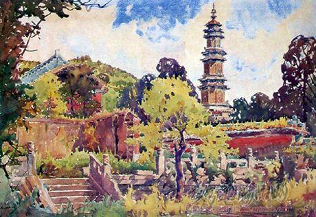 吉林省吉林市人,是我國老一輩著名水彩畫家之一,是北方有名的畫家和
