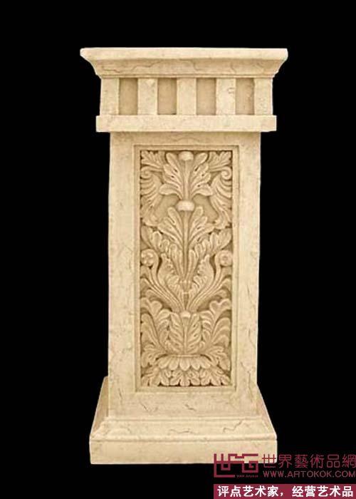 欧式竖幅石材浮雕