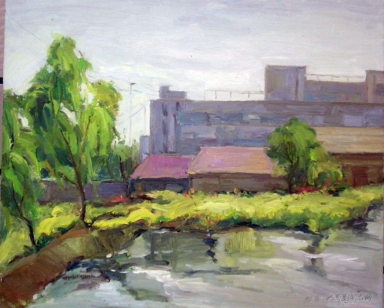 我的油画风景习作