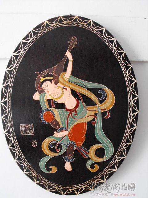 名家 张唯江 雕塑雕刻 - 反弹琵琶