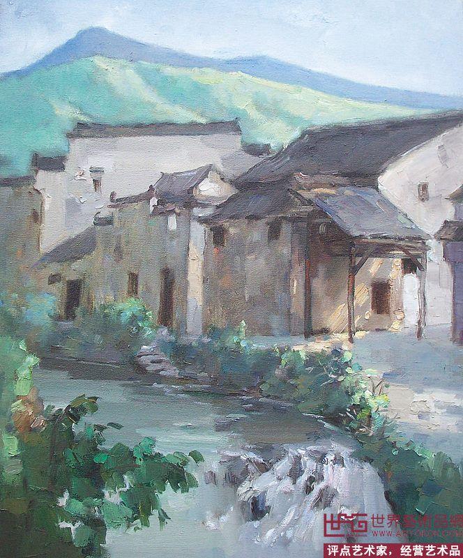 游海明油画风景-游海明-淘宝-名人字画-中国书画交易