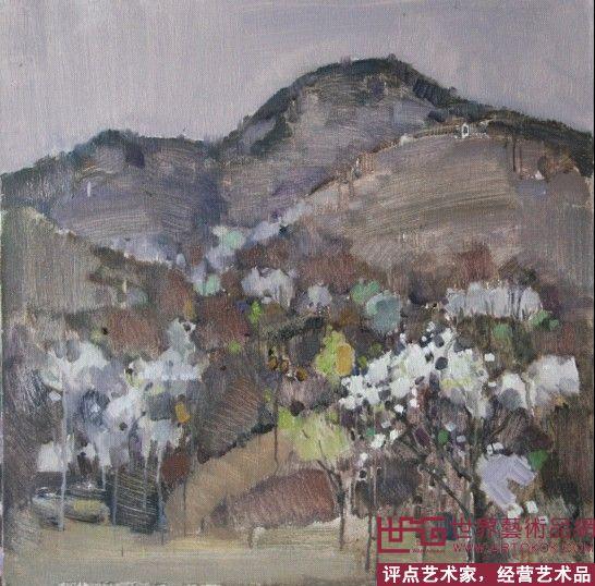 油画风景-李志勇-淘宝-名人字画-中国书画交易中心