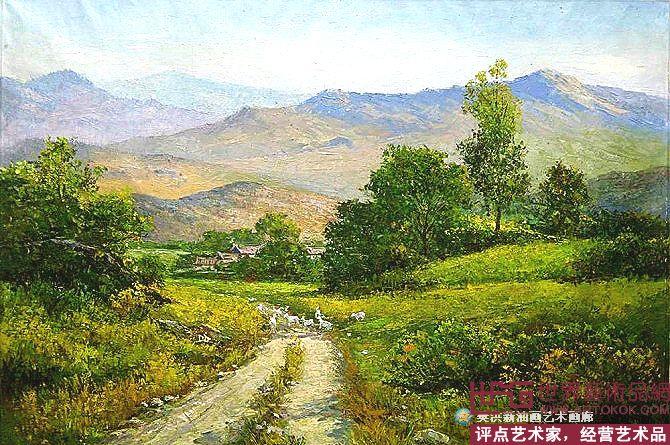 名家 张家口樊洪新油画 油画 - 大田野景 当前 位粉丝喜爱本幅作品